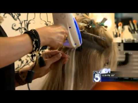 New Laser Technology Promises Healthy Hair Extensions