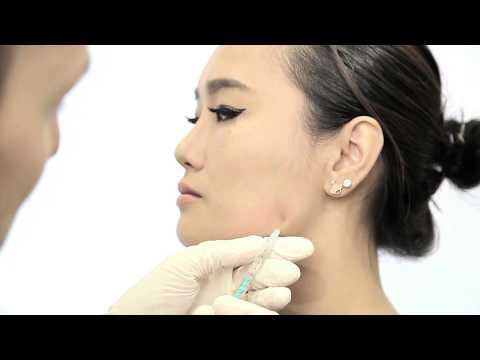 V-Shape Jaw Muscle Reduction with Xeomin or Botox
