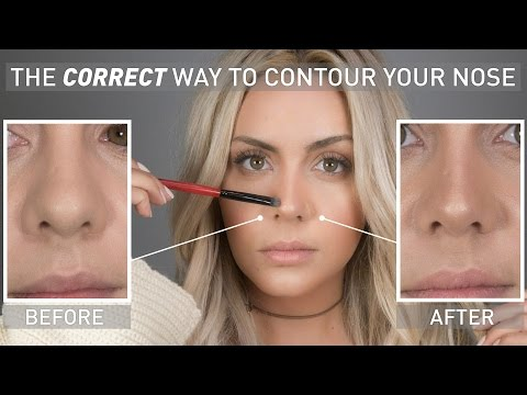 The Correct Way To Contour Your Nose