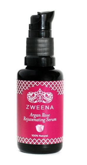 Zweena-Argan-Rose-Rejuvenating-Face-Serum-