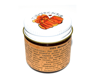 plantmakeup Turmeric Honey Scrub