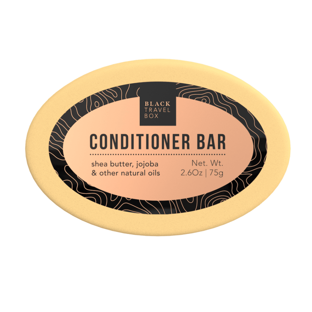 بلسم CONDITIONER BAR من إنتاج The Black Travel Box