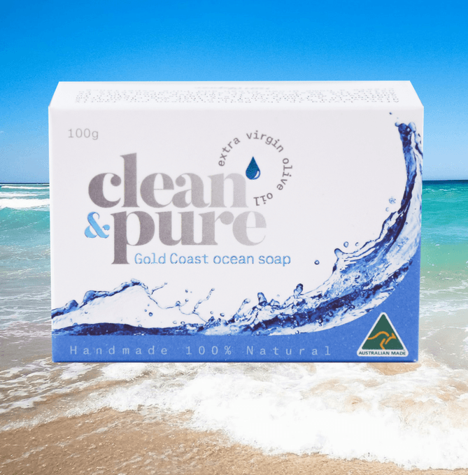 صابونة clean pure ocean soap