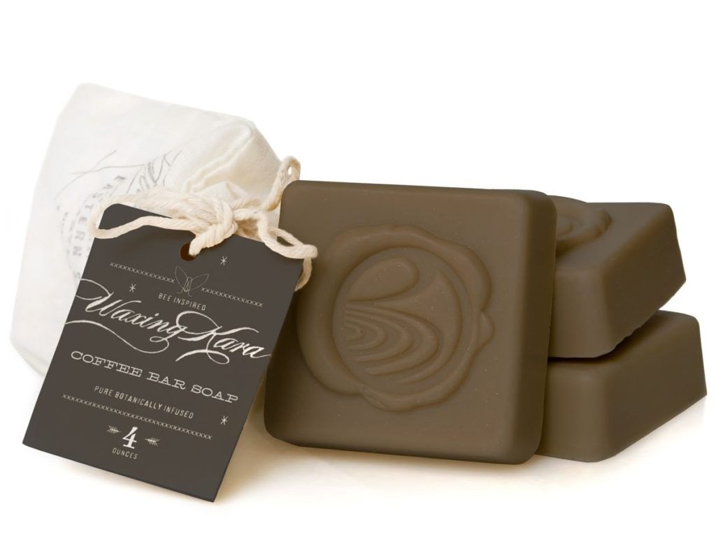 صابونة coffee bar soap من إنتاج waxingkara