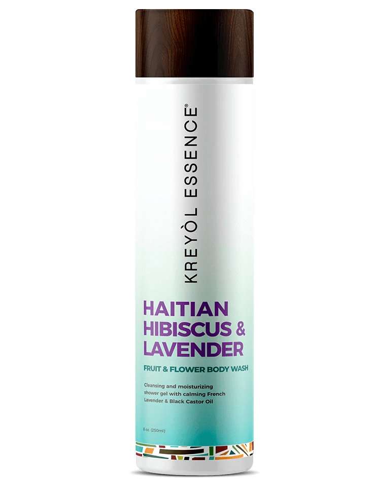 Haitian Body Wash Hibiscus And Lavender من Kreyol Essence