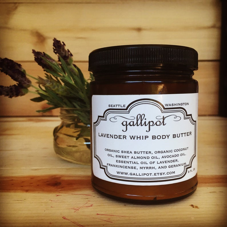 Lavender Whip Body Butter من Etsy