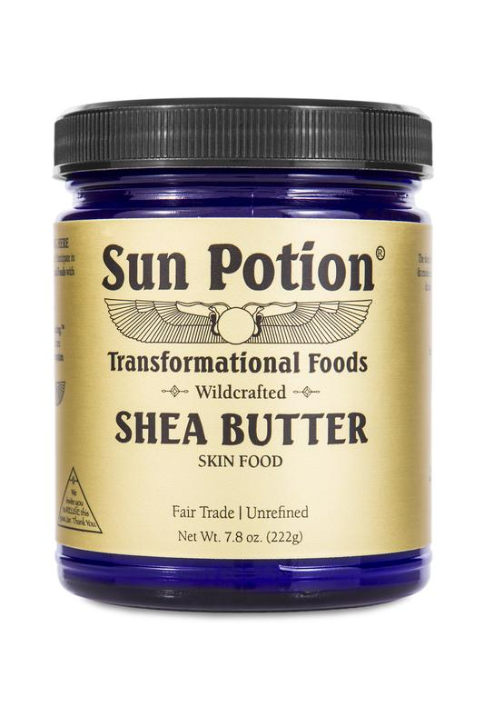 Shea Butter - Wildctafted من Sun Potion