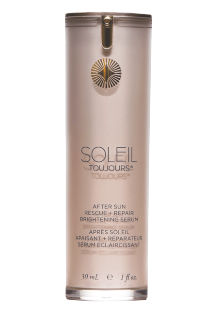 السيروم المعالج After Sun Rescue + Pepair Brightening Serum من SOLEIL Toujours
