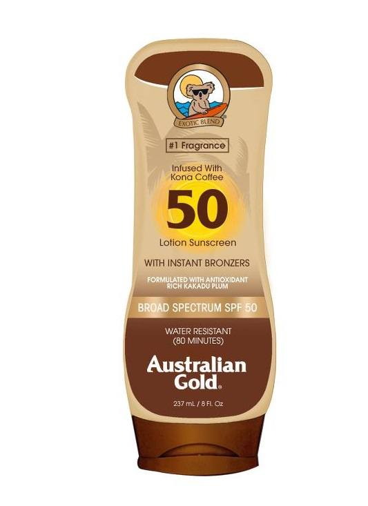 منتج Sunscreen Lotion With Bronzers من Australian Gold