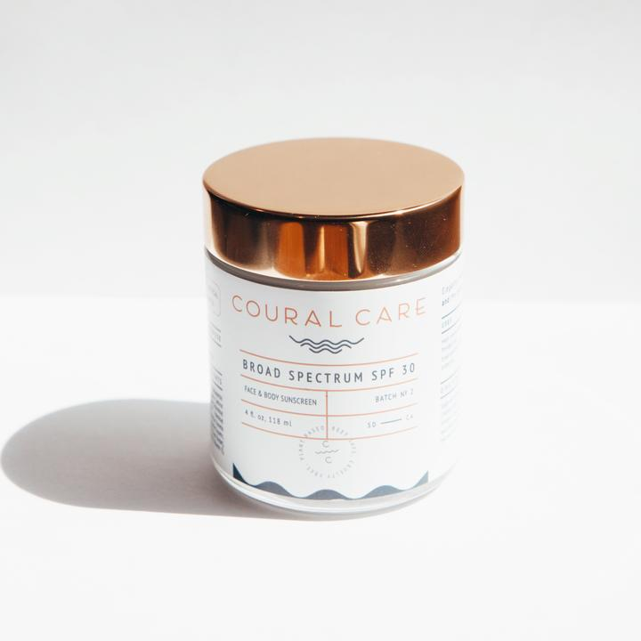 واقي الشمس coural care 4OZ FACE + BODY SPF من COURAL CARE