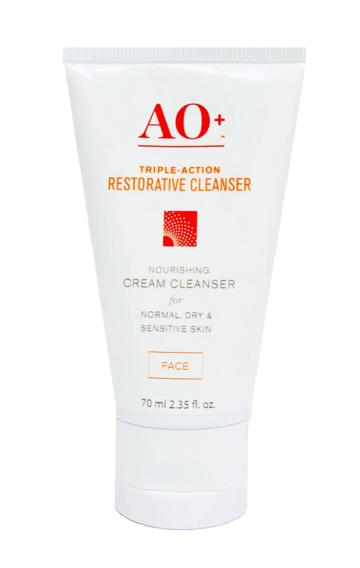 AO+ Triple Action Facial Cleanser من AOBiome من افضل انواع غسول للوجه