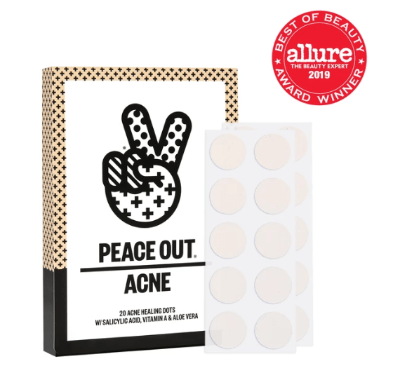 PEACE OUT ACNE DOTS لعلاج حب الشباب