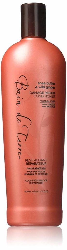 shea butter & wild ginger DAMAGE REPAIR SHAMPOO من Bain de terre